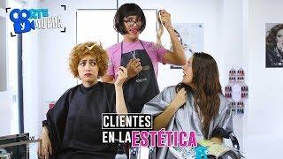 Video CLIENTES EN LA ESTÉTICA | CORTE Y QUEDA MP3, 3GP, MP4, WEBM, AVI, FLV Juli 2018