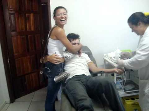 Giuliano doando sangue em alta floresta
