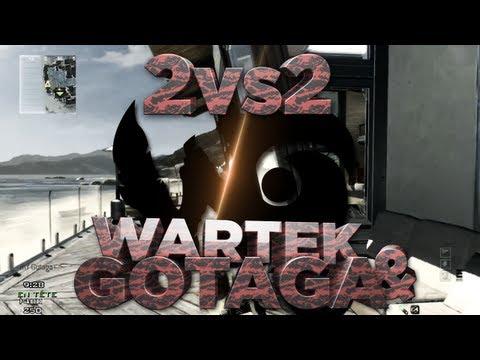 WaRTeK & Gotaga | Sniping 2vs2 MW3
