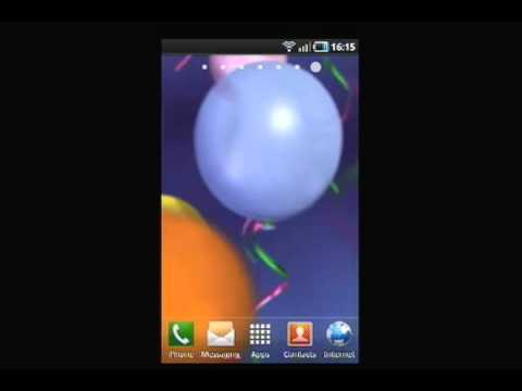 Video of Colorful Balloons LWP
