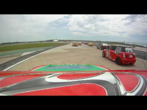G1 Racing #87 ICAR Race Onboard With Sasha Anis