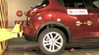 Bumper test trasero Nissan Juke