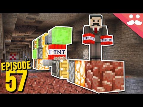 Hermitcraft 7: Episode 57 - TUNNEL BORES!