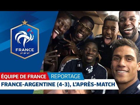 Video Equipe de France : France-Argentine, l'après-match des Bleus I FFF 2018 download in MP3, 3GP, MP4, WEBM, AVI, FLV January 2017