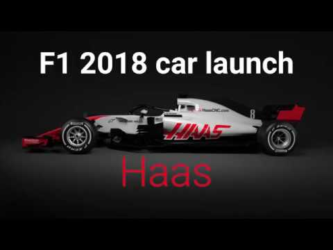 Haas launches 2018 F1 car