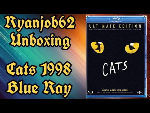 Cats 1998 Blue Ray Unboxing