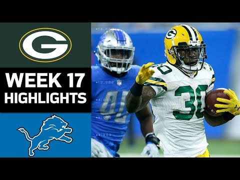 Video: Packers vs. Lions | NFL Week 17 Game Highlights