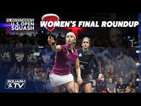 Squash: El Tayeb v Gohar - U.S. Open 2019 - Women's Final Roundup