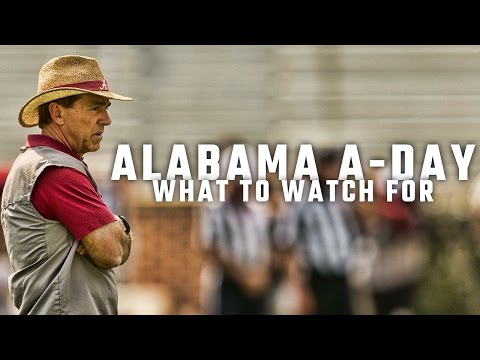 What to watch for in Alabama's A-Day game