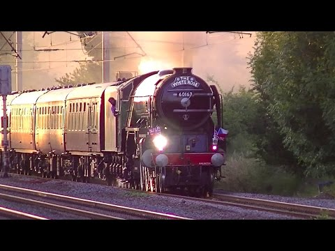 LNER A1 60163 Tornado returns to the South with The White...