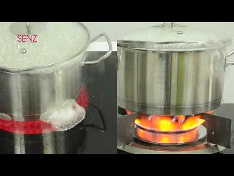 SENZ Electric Cooker VS Gas Cooker