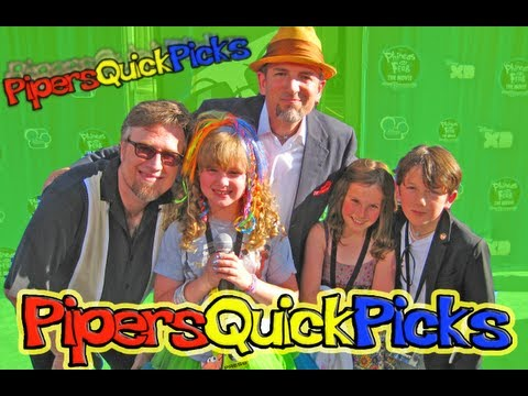 DAN POVENMIRE and SWAMPY MARSH INTERVIEW PHINEAS AND FERB Premiere (plus DJANGO MARSH) w PIPER!! (PQP #062)