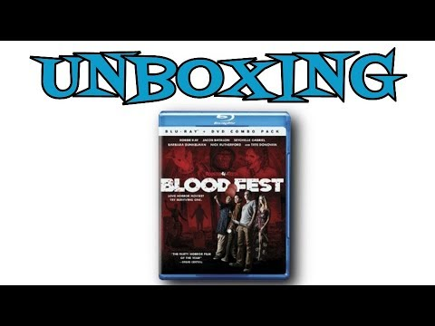 Blood Fest BluRay Unboxing