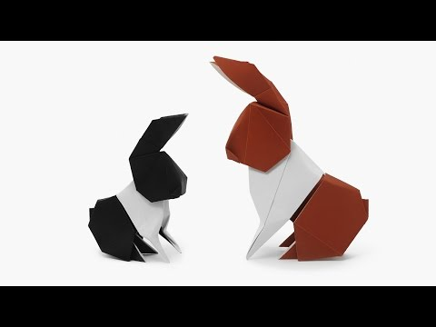 Origami Dollar Bill Hare (Barth Dunkan)