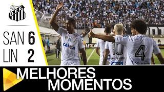 QUE ESTREIA, MEUS AMIGOS! O Peixe deu show na Vila e bateu o Linense por 6 a 2, na estreia do Paulistão 2017! Confira os melhores momentos da partida ...