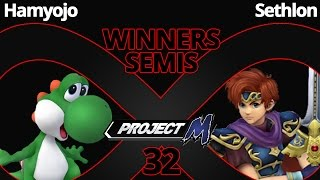 "Obligatory ""someone beat Sethlon at the weekly"" – IaB32 PM – Top Player Hamyojo (Yoshi) vs Sethlon (Roy) – Winners Semis"