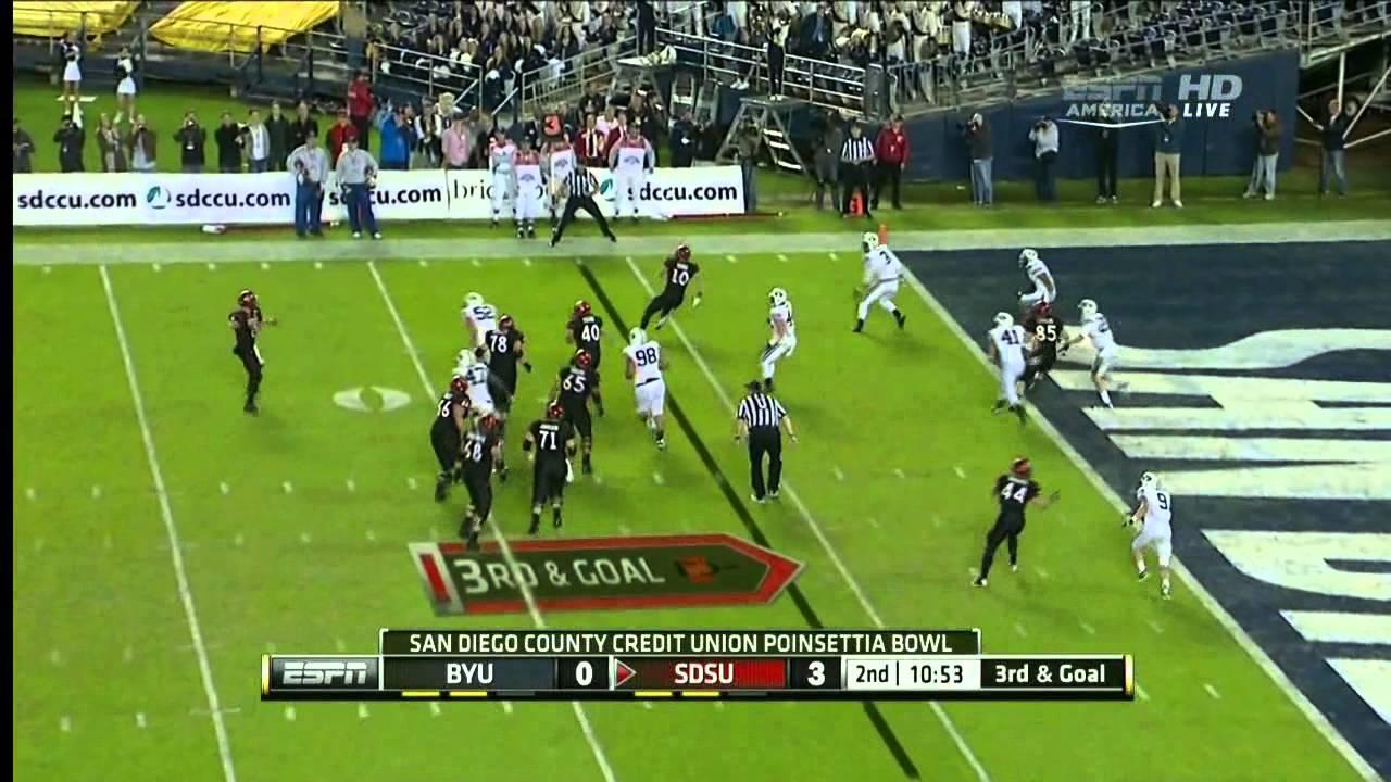 Ezekiel Ansah vs SDSU (2012 Bowl)
