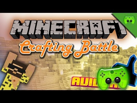 MINECRAFT CRAFT Battle # 1 - BTTV Vs. Br4mm3n vs. Avive «» Let's Play Minecraft | HD
