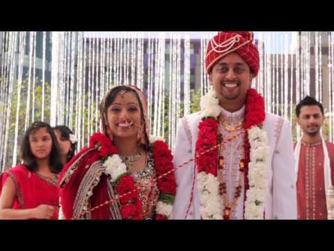 Cinematic Hindu Wedding Ceremony & Reception Highlight - Sheraton Cerritos Hotel