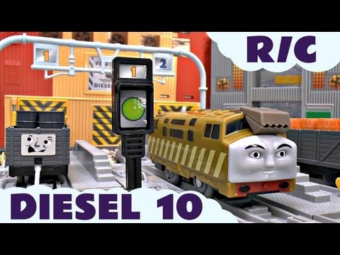 Thomas The Tank Engine Remote Control Diesel 10 for Trackmaster Kids Toy Train Set Thomas The Tank