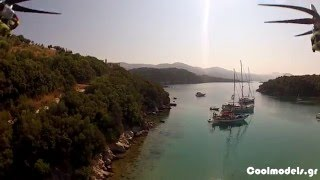 Syvota Greece  city images : Bella Vraka - Syvota, Greece Aerial Video