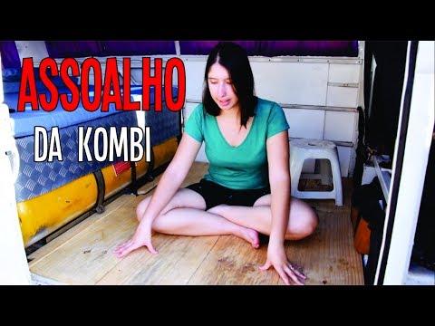 ASSOALHO da KOMBI SIMPLES e BARATO + CANTORIAS e DESAFINAMENTOS  KOMBIHOME #11  T.6/EP.22