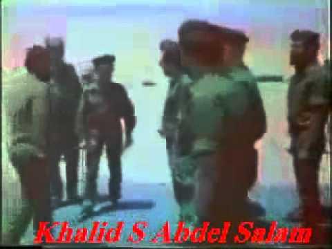 فيديو تسليم العلم الإسرائيلى لأبطال مصر فى معركة لسان بور توفيق الثانية