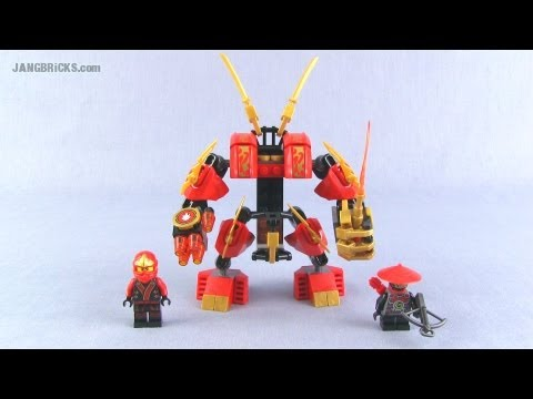 LEGO Ninjago Kai's Fire Mech 70500 set Review!