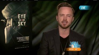 Nonton Aaron Paul Talks 'Eye in the Sky' Film Subtitle Indonesia Streaming Movie Download