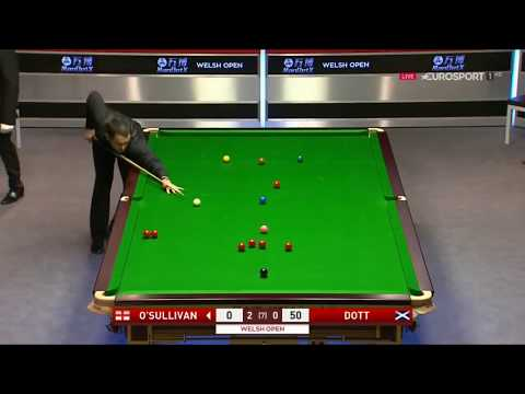 Ronnie o'sullivan clearance Vs Graeme Dott •R2• |Welsh Open 2018|