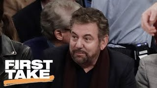 Ryan Clark and Max Kellerman criticize James Dolan for choosing to fight back against fans when they are critical of the Knicks in front of him. Subscribe t...