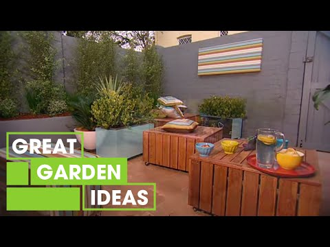 Better Homes and Gardens - Moveable garden