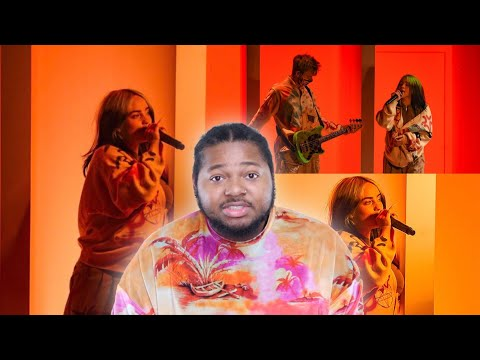 """BILLIE EILISH x """"THEREFOR I AM"""" LIVE AT THE 2020 AMERICAN MUSIC AWARDS (AMAs) 