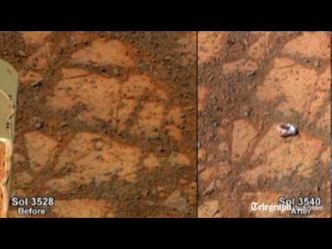 Scientists closer to solving Mars rock mystery, says Nasa expert
