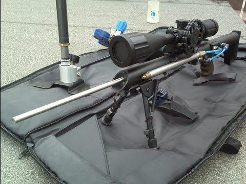 Homemade Airsoft sniper rifle BB狙击步枪