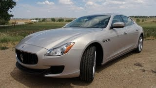 2014 Maserati Quattroporte: Quick Take Drive And Review