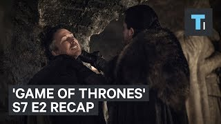 "There was a lot going on in the most recent episode of season 7 of ""Game of Thrones,"" including a long awaited reunion between two old friends and the set up for a highly anticipated meeting between two of the main characters. Here's a look at some of the details you might not have picked up on the first time around, including several references to season 1.Read more: http://www.businessinsider.com/saiFACEBOOK: https://www.facebook.com/techinsiderTWITTER: https://twitter.com/techinsiderINSTAGRAM: https://www.instagram.com/businessinsider/TUMBLR: http://businessinsider.tumblr.com/"