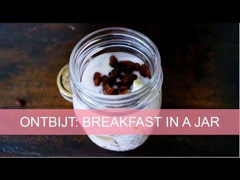 Budgetontbijt 2: breakfast in a jar | Girlscene