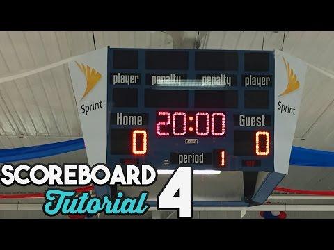 Hockey Scoreboard Tutorial (Bensenville Ice Arena)