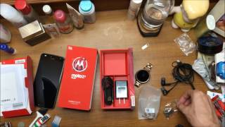 Unboxing Moto Z2 Play