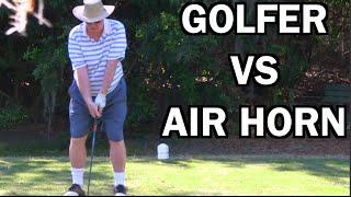 Video BEST GHILLIE SUIT GOLF COURSE AIR HORN PRANK EVER!!   JOOGSQUAD PPJT MP3, 3GP, MP4, WEBM, AVI, FLV Maret 2019