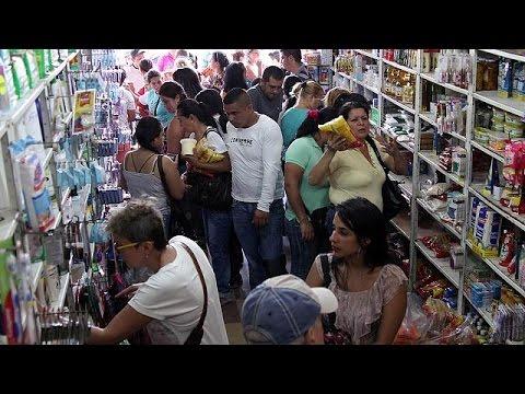 Βενεζουέλα: Χιλιάδες πέρασαν τα σύνορα με την Κολομβία για να βρουν φαγητό