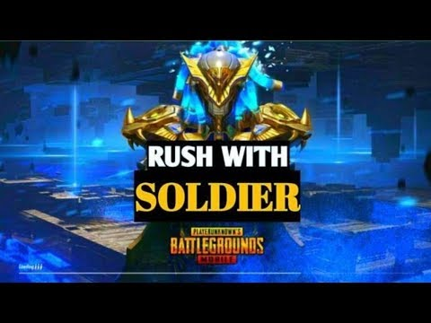 MORNING RUSH LOBBY   PUBG MOBILE LIVE   ROAD TO 100K! ✔    SOLDIER   