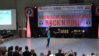 Franziska Peßler & Tobias Öttl - Bayerische Meisterschaft 2014