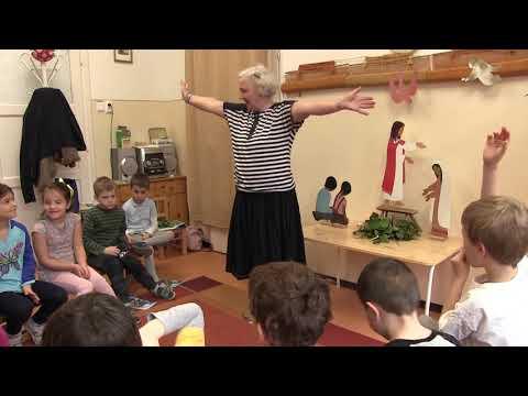 2018-03-26 Csillag Éva hittanórái a Szent Gellért Óvodában - 2018-03-26