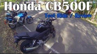 9. Honda CB500F 2013 Review
