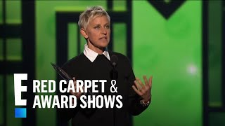 Ellen DeGeneres wins at People's Choice Awards 2013