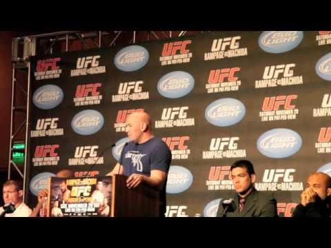 Dana White UFC 123 Video Blog November 18th