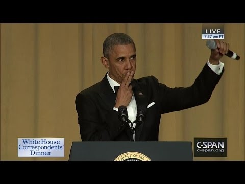 President Obama At The White House Correspondent's Dinner This Past Weekend!