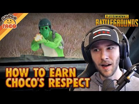 How to Earn chocoTaco's Respect ft. A1RM4X - PUBG Duos Gameplay